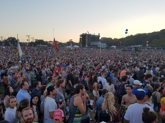 Sea of People at ACL Fest