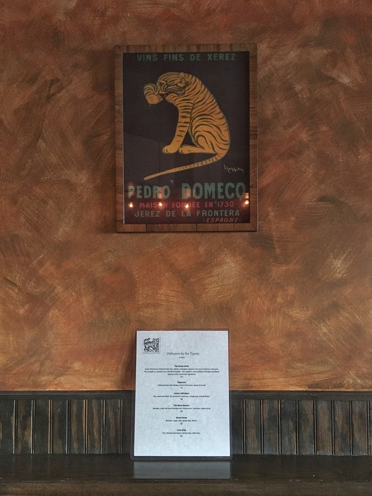 The Tigress Pub Interior Decor