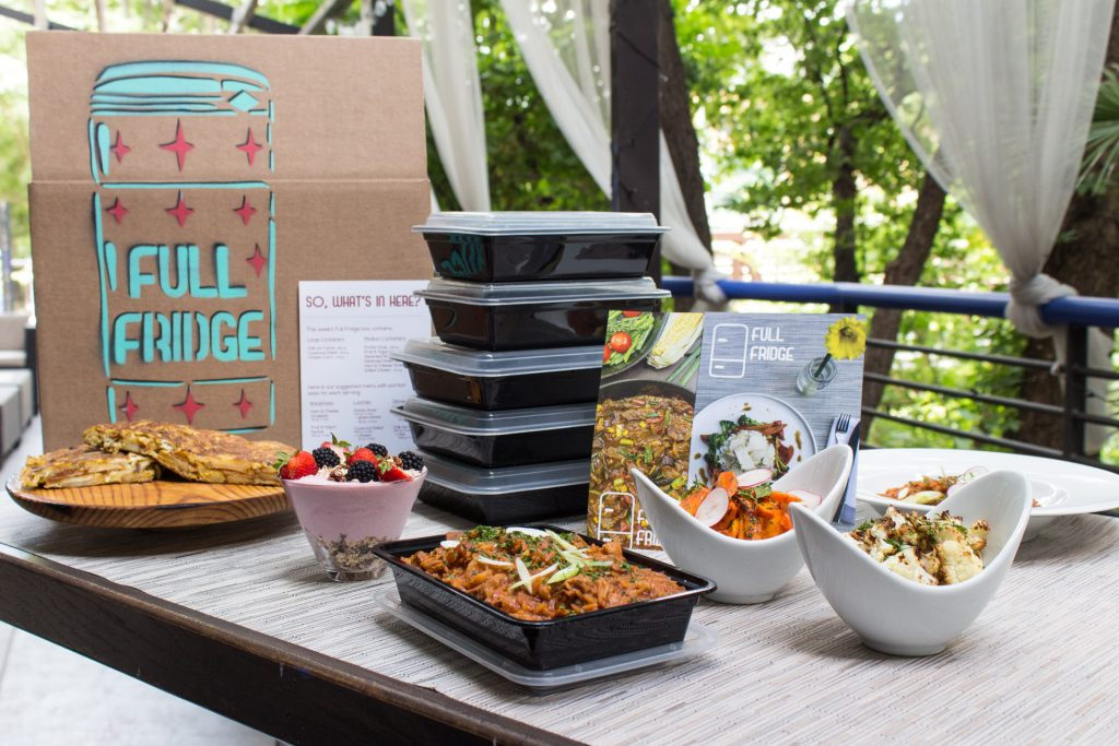 Full Fridge Meal Delivery Austin