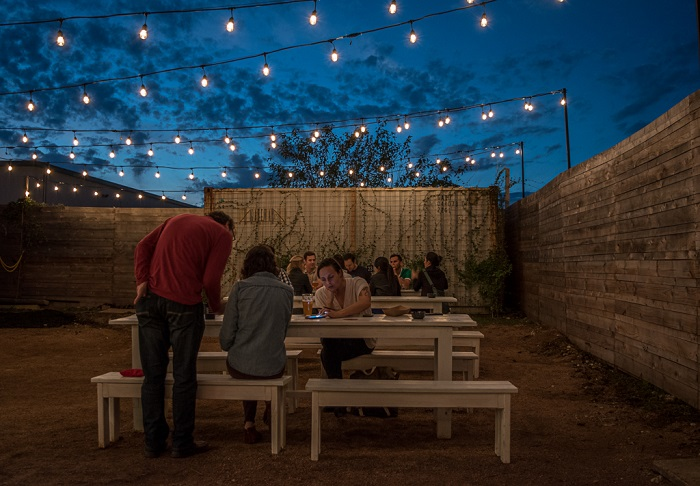 St Elmo Brewing Outdoor Patio in Austin