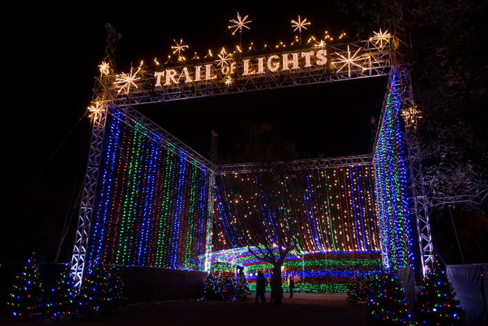 Austin Trail of Lights Entry