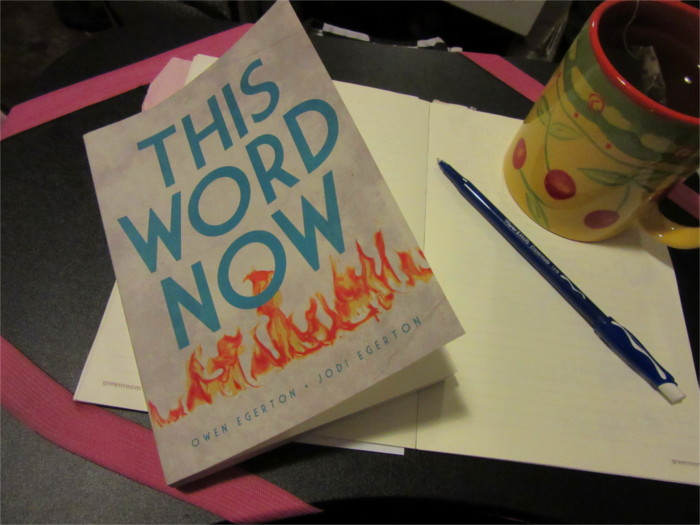 This Word Now Book by Owen and Jodi Egerton