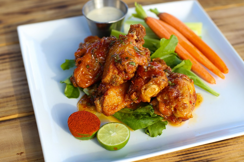 Asian Garlic Lollipop Wings at Revelry