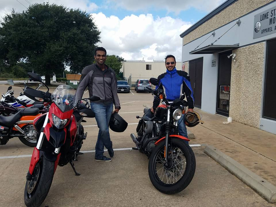 Two Lone Star Motos Customers in Austin