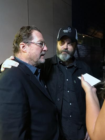 Nick Offerman and Stephen Root SXSW 2017