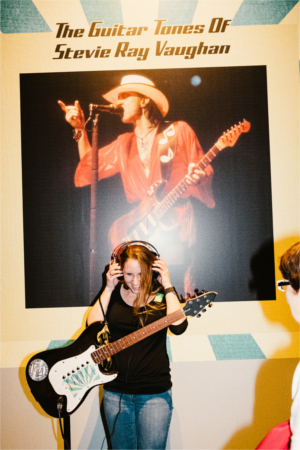 Stevie Ray Vaughan Interactive Exhibit at Bullock Museum
