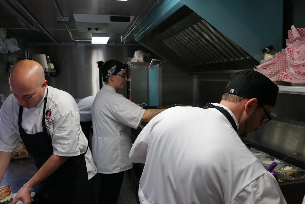 Austin ISD School Chefs in Food Truck