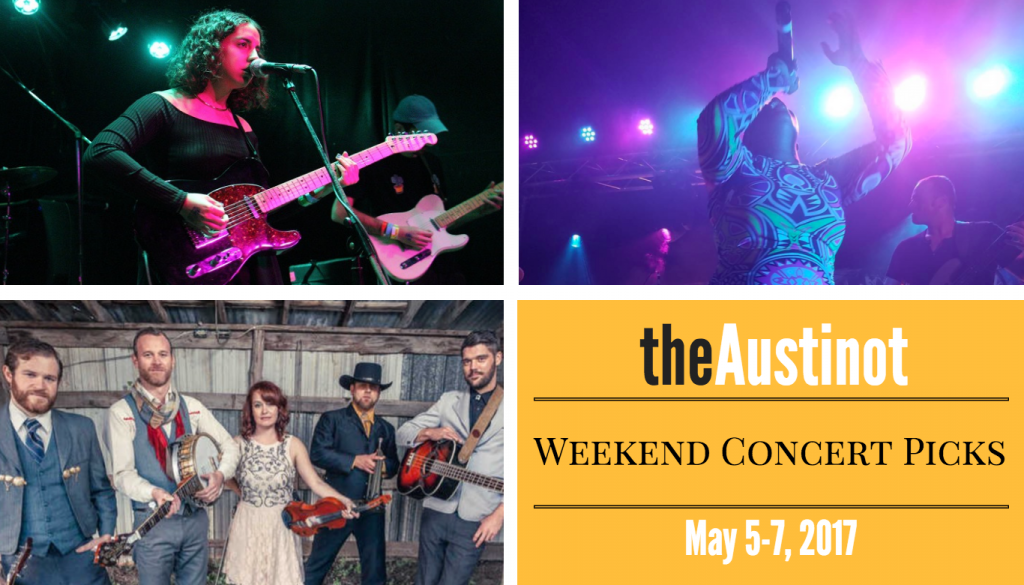 Austinot Weekend Concerts May 5