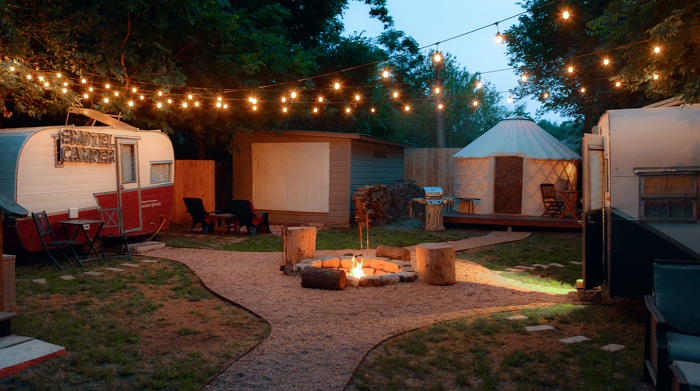 Austin Glamping Accommodations