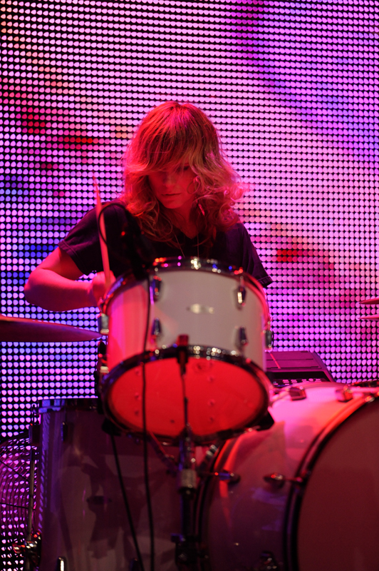 Drummer Stephanie Bailey The Black Angels