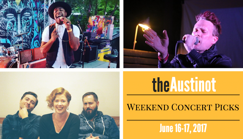 Austin Weekend Concert Picks June 16