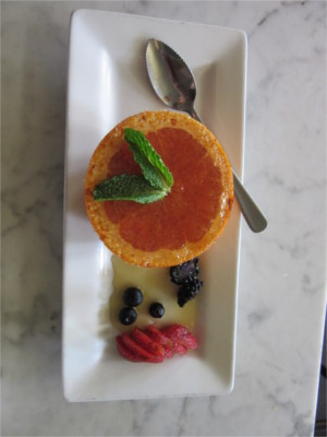 Brulee Grapefruit at Hillside Farmacy