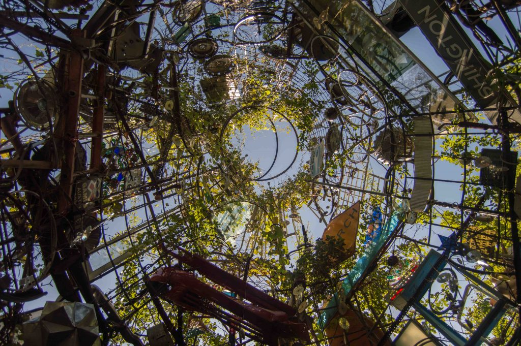 cathedral of junk in Austin