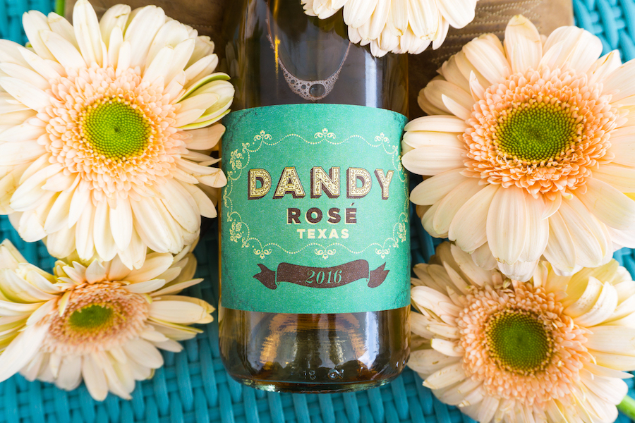 Dandy Rose Made in Austin Wine