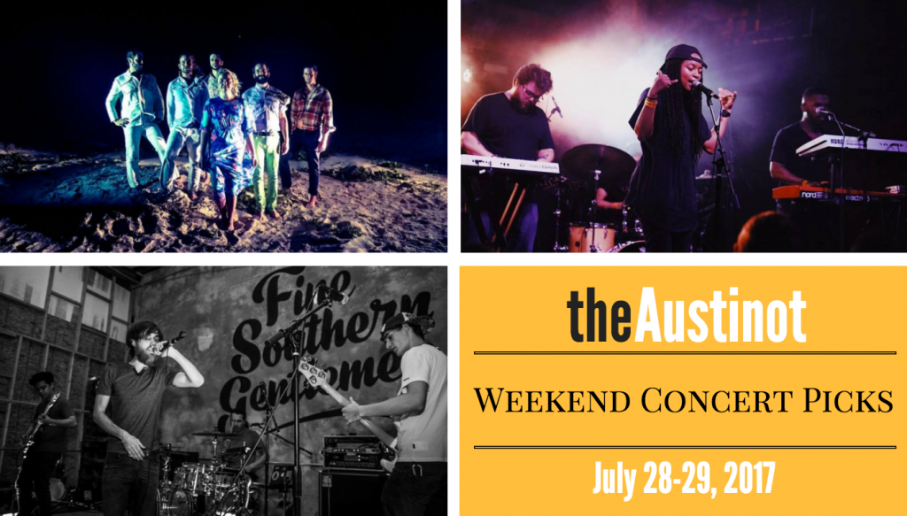 Austinot Weekend Concert Picks July 28