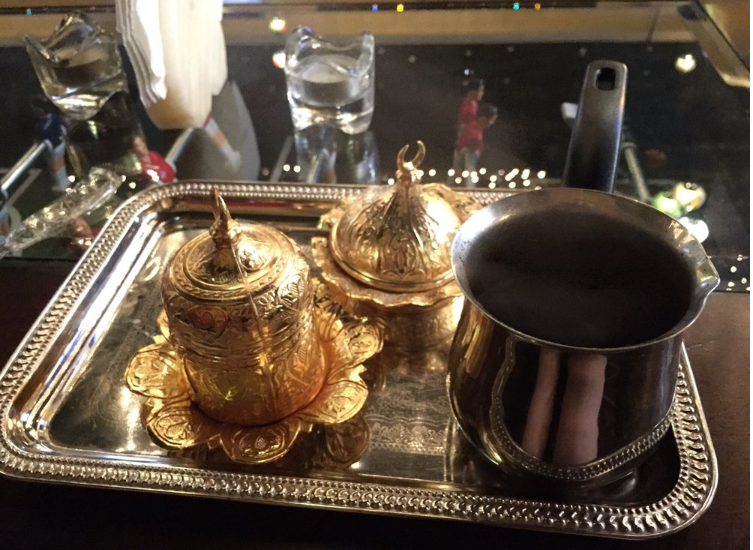 Moroccan Coffee at Hookah Buzz in Austin