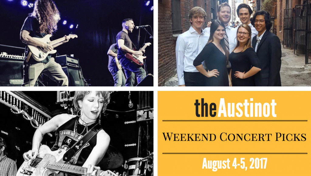 Austinot Weekend Concert Picks August 4
