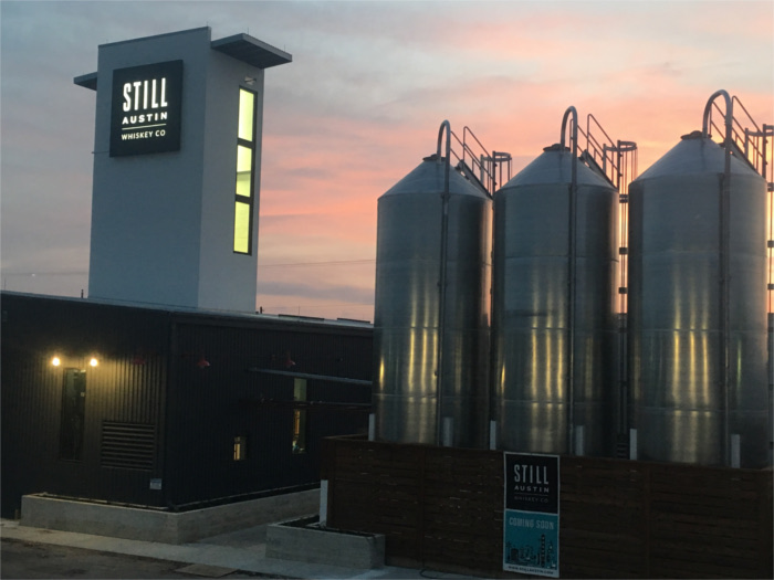 Still Austin Whiskey Co. Silos