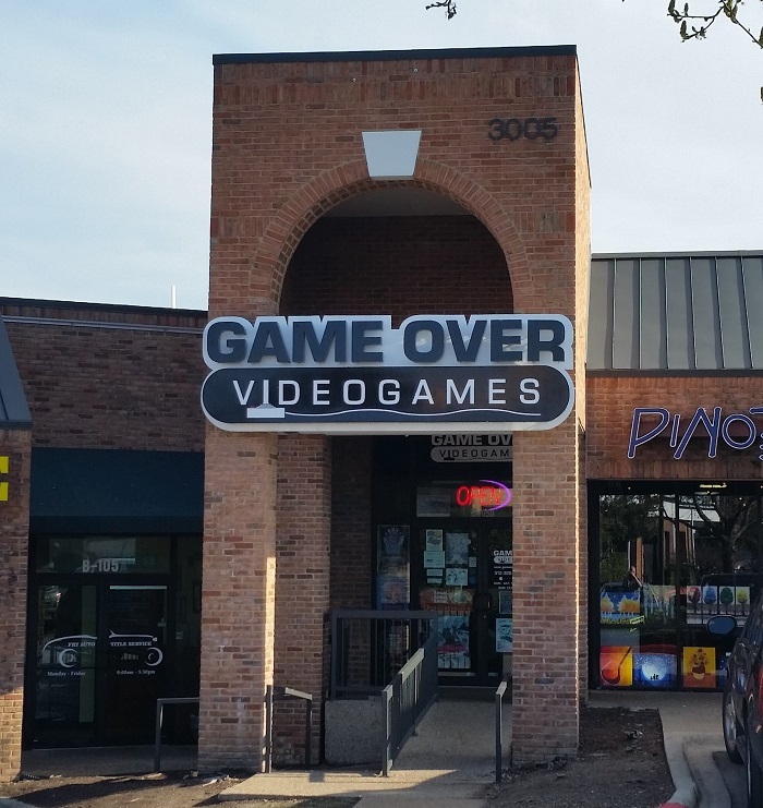 Game Over Videogames Geek Spots in Austin