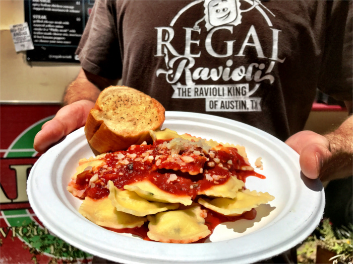 Ravioli King at Regal Ravioli in Austin