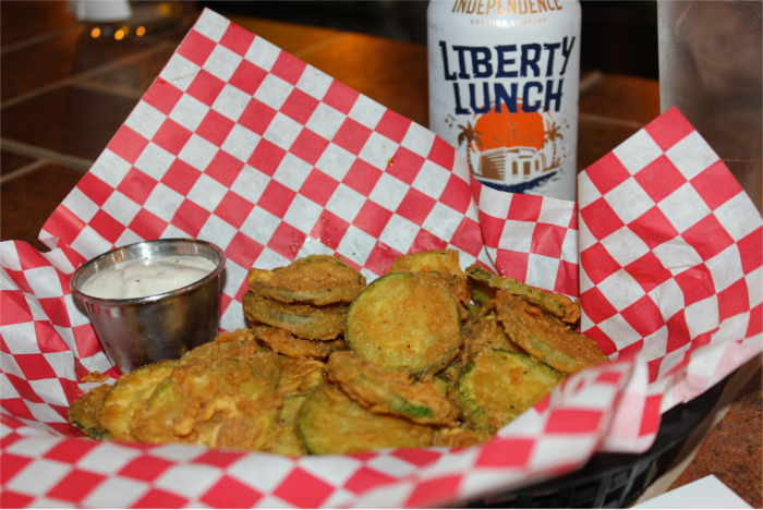 Fried Zucchini Chips Warpath Pizza