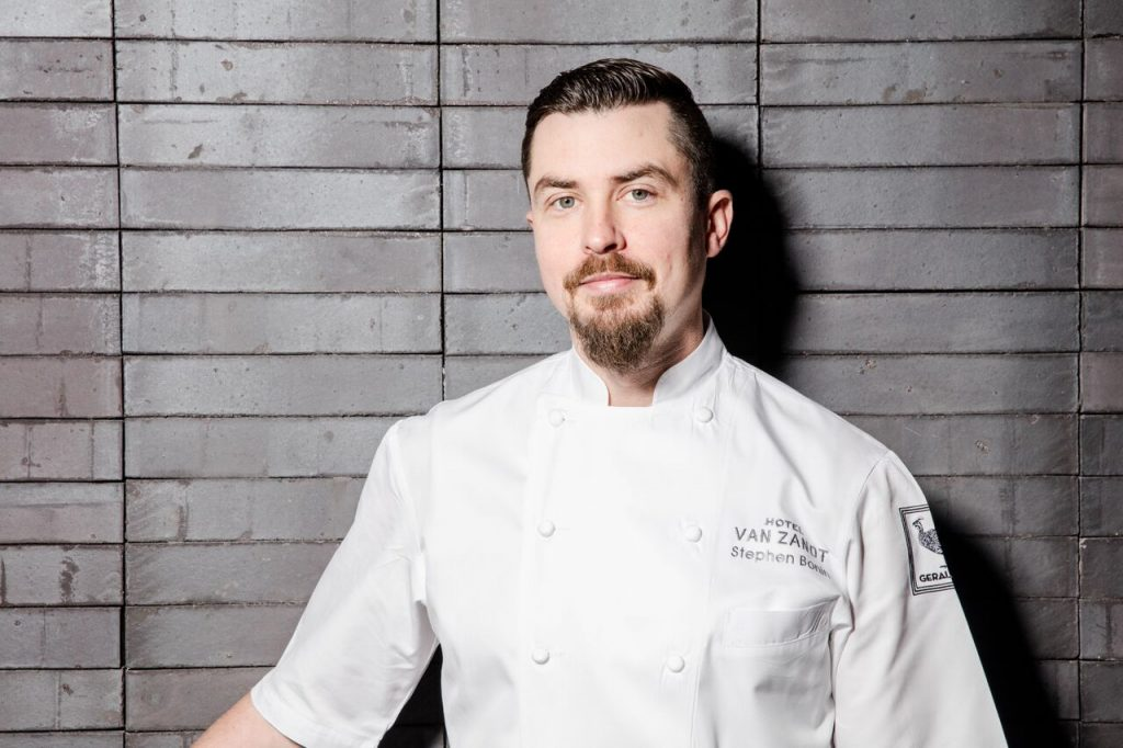 Geraldine's Executive Chef Stephen Bonin