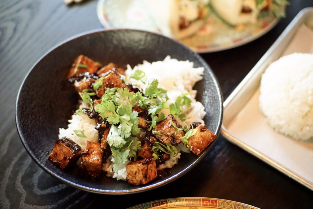 Black Pepper Tofu at Old Thousand