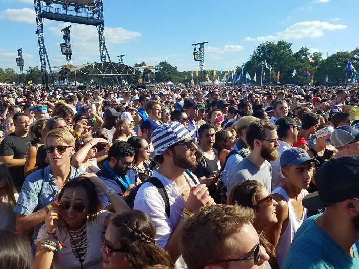 Crowd at ACL Fest 2017