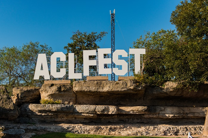 ACL Fest Sign