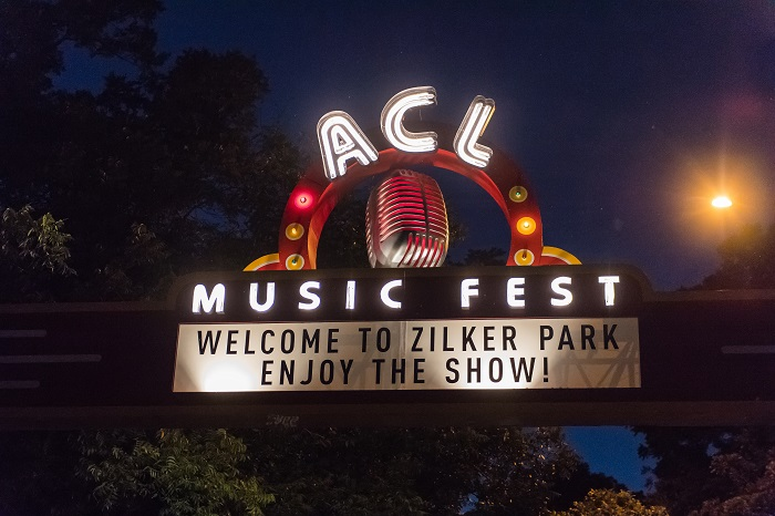 ACL Fest Welcome Sign