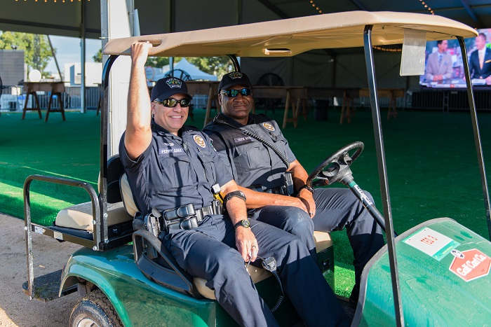 Austin Police Department at ACL Fest