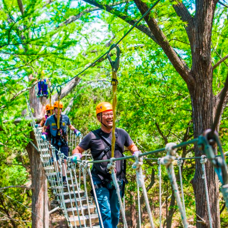 Corporate Events and Team-building at Cypress Valley Canopy Tours