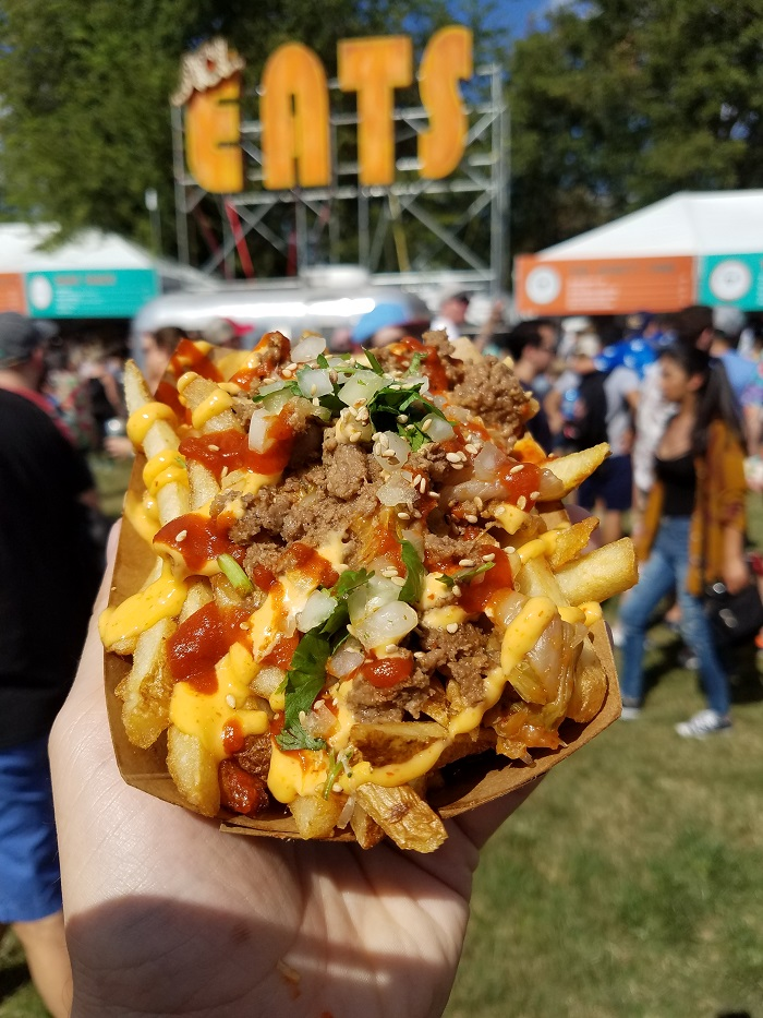 Chilantro Kimchi Fries at ACL Fest