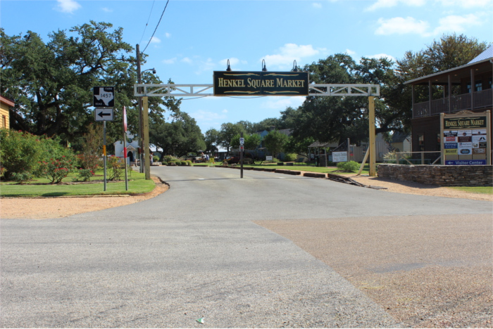 Henkel Square in Round Top