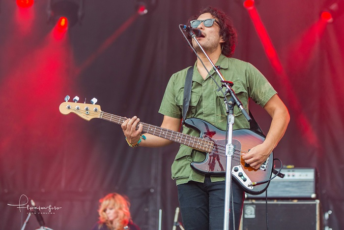 Jake Garcia The Black Angels at ACL Fest