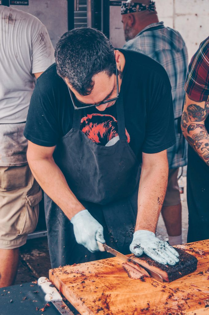 Aaron Franklin at Texas Monthly BBQ Fest 2017