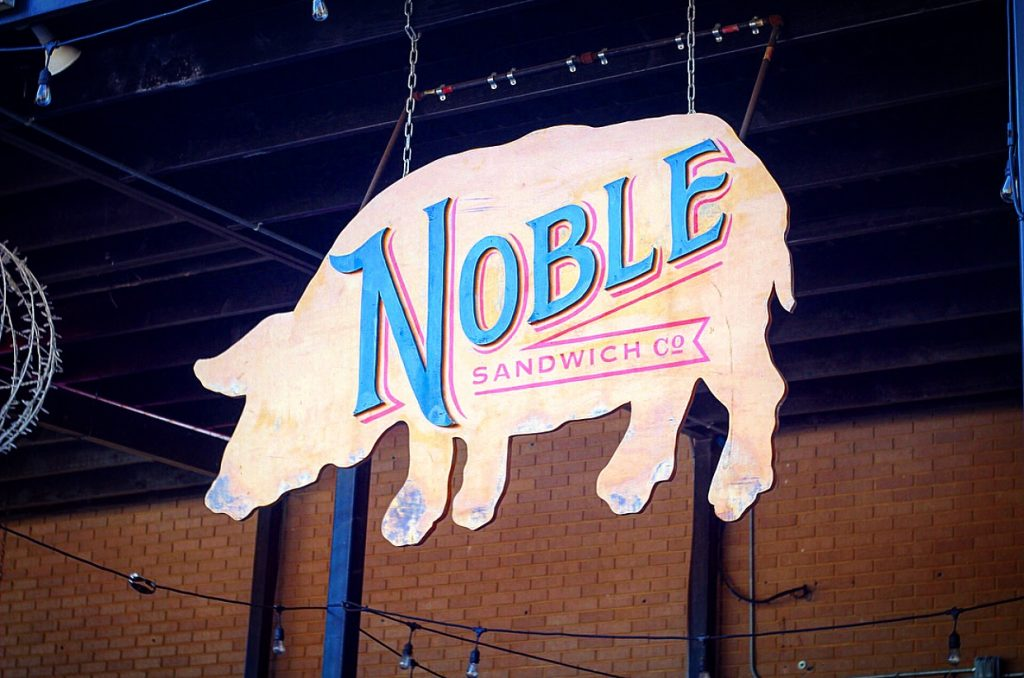 Noble Sandwich Company in Austin