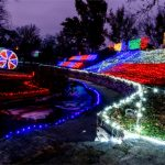 Texas Hill Country Holiday Light Trails
