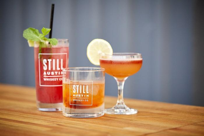 Still Austin Whiskey Co. Cocktails