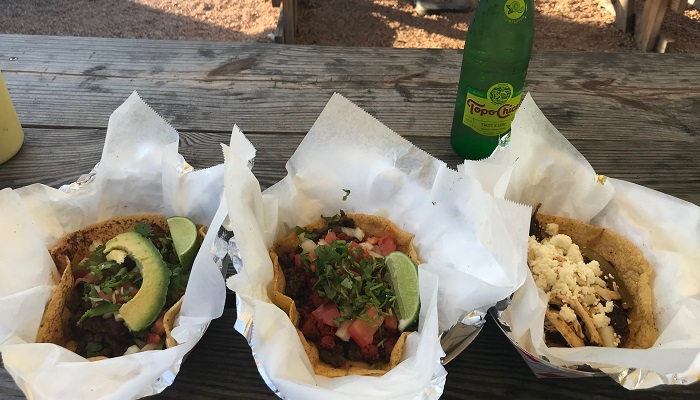 Tacos at Granny's Tacos in Austin
