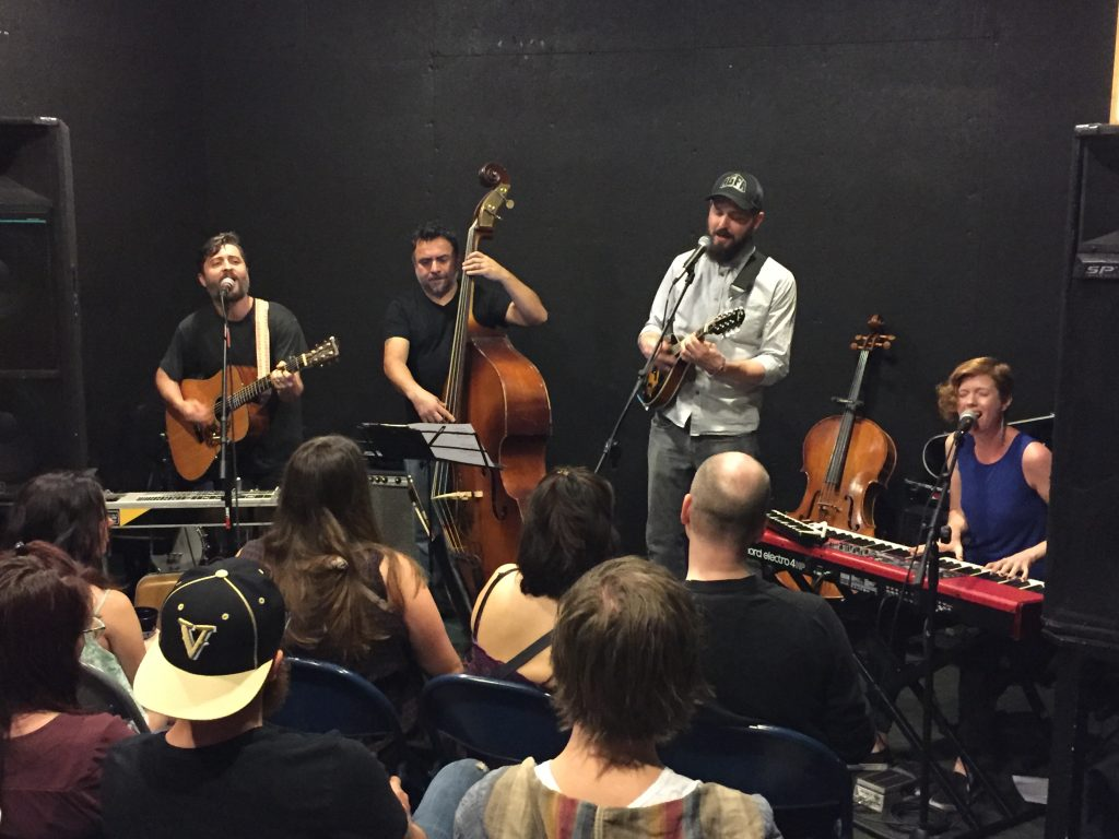 The Wheelwrights Microsessions Live Performance