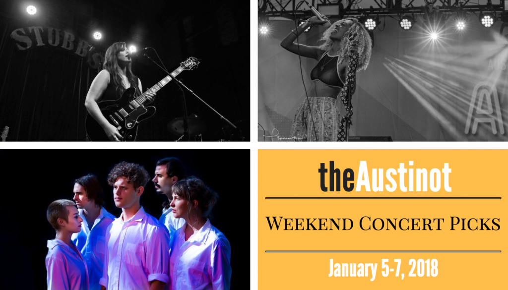 Austinot Weekend Concert Picks Jan 5