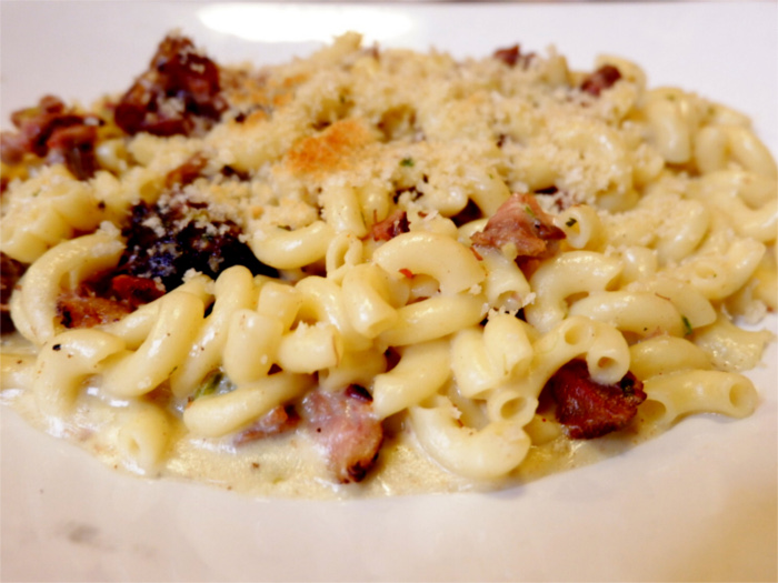 Brisket Mac N Cheese at Kerbey Lane Cafe