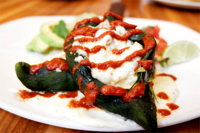 Naked Chile Relleno Kerbey Lane Spring Menu