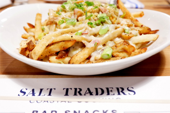 Chowda Fries at Salt Traders