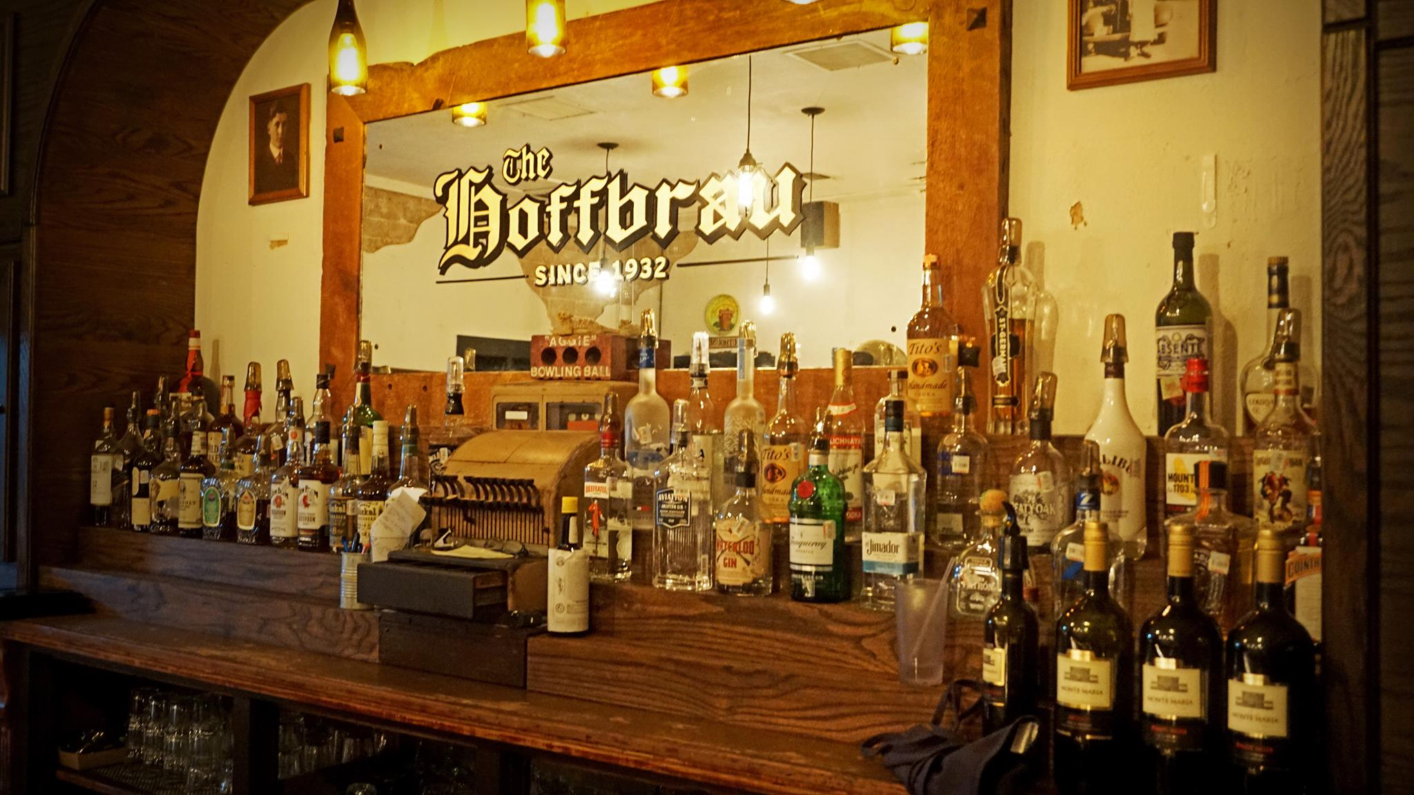 The Original Hoffbrau Steakhouse Vintage Bar