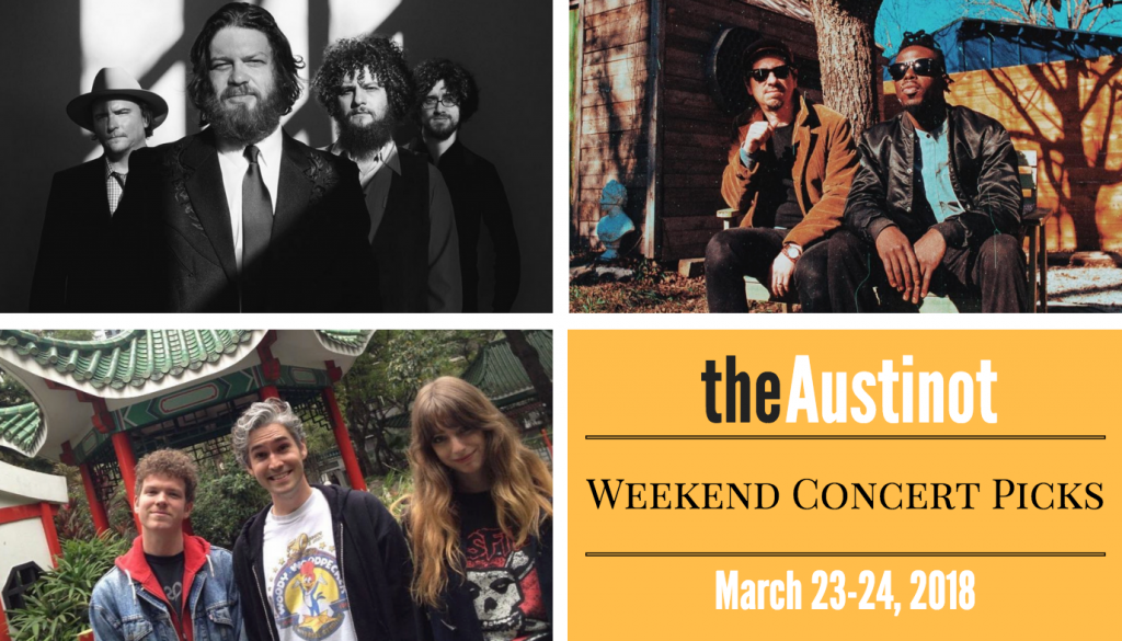 Austinot Weekend Concert Picks March 23
