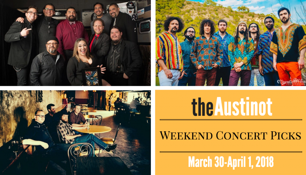 Austinot Weekend Concert Picks March 29