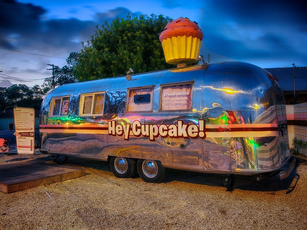 Hey! Cupcake Airstream