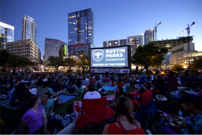 Movies in the Park Series Austin